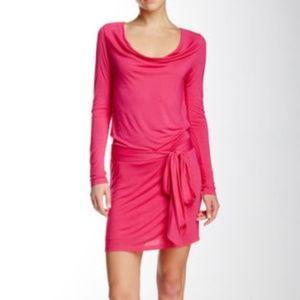 ** ~  $395 NWT Haute Hippie Faux Wrap Back Dress